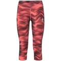 Women's ESSENTIAL SOFT PRINT 3/4 Running Tights, siesta - graphic SS21, large