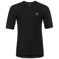 Men's ACTIVE WARM Base Layer T-Shirt, black, large