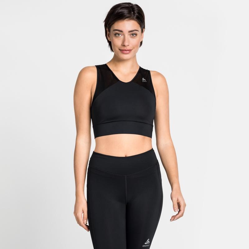 Damen LOU Sport-Bralette, black, large
