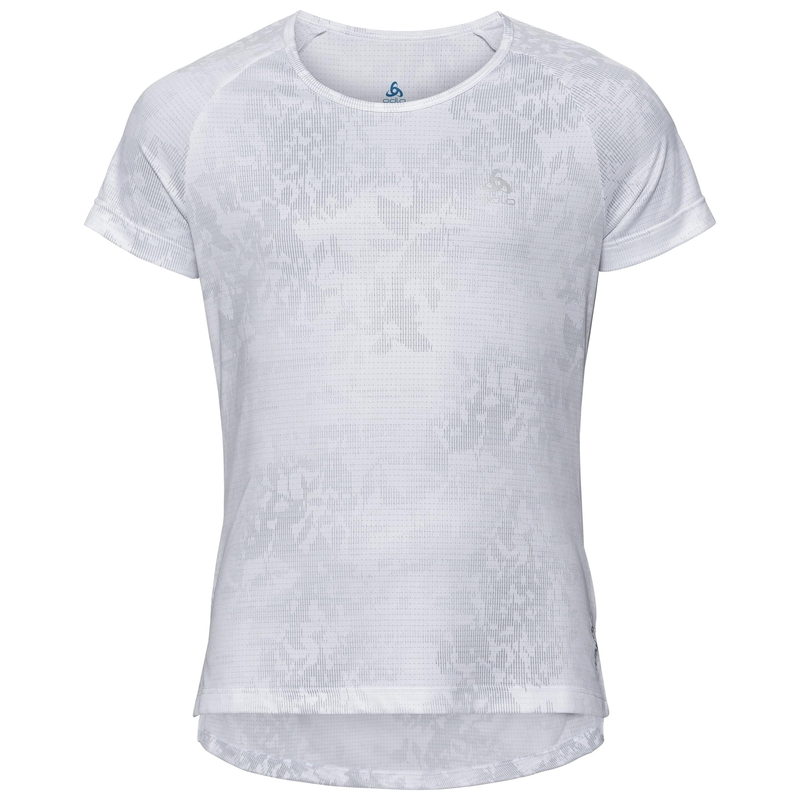 GIRLS CERAMICOOL BLACKCOMB T-Shirt, white - AOP SS19, large
