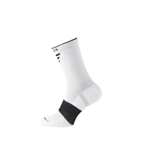 CERAMIWARM MID lange Socken, white - black, large
