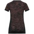 T-shirt BLACKCOMB CERAMICOOL da donna, black - space dye, large