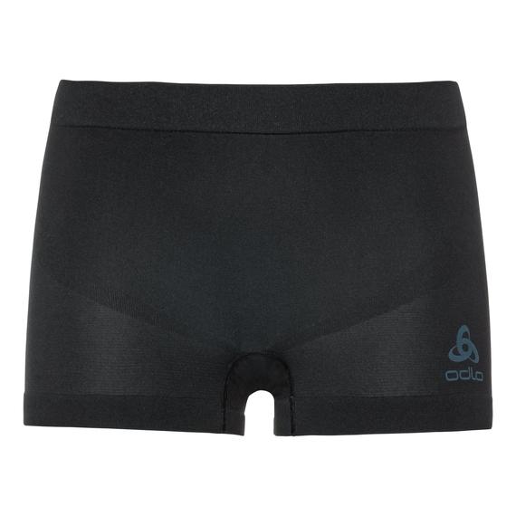 SUW Bottom PERFORMANCE Essentials LIGHT Panty, black - blue radiance, large