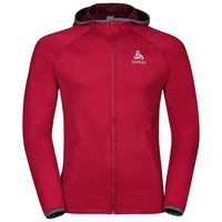 Hoody midlayer full zip PULSE, jester red, large