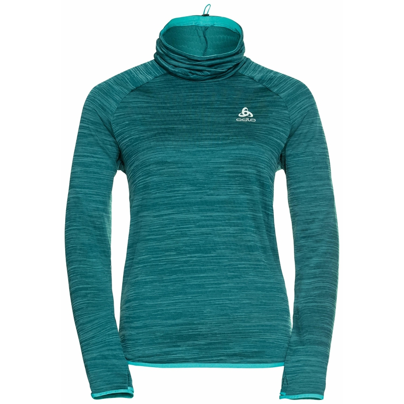The Run Easy Warm mid layer, balsam melange, large