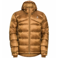 Gefütterte HERREN COCOON N-THERMIC X- WARM Jacke, golden brown, large