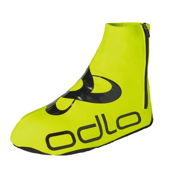 ZEROWEIGHT Schuhüberzug, safety yellow - black, large