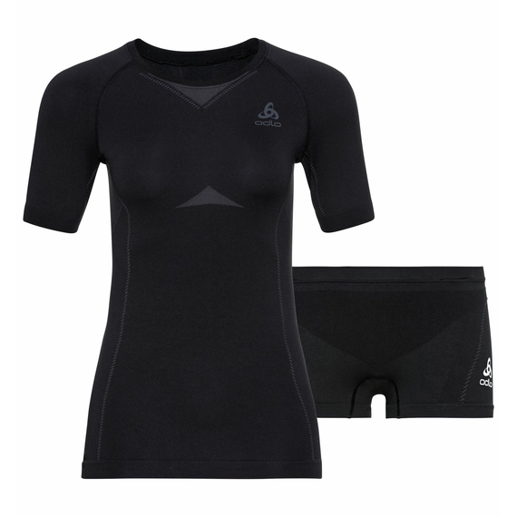 Ensemble de sous-vêtements PERFORMANCE EVOLUTION pour femme, black - odlo graphite grey, large