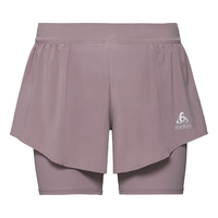 Damen ZEROWEIGHT CERAMICOOL PRO 2-in-1 Shorts, quail, large