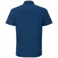 Men's ANTON Short-Sleeve Shirt, estate blue, large