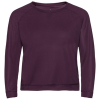 BL TOP Crew neck l/s HARVEST, potent purple, large
