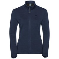 Midlayer full zip SIERRA ZIP IN, diving navy, large