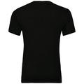 BL Top Crew neck s/s AION PLAIN, black, large