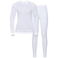 Women's ACTIVE WARM Baselayer Set, white, large