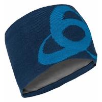 CERAMIWARM MID GAGE Headband, estate blue - directoire blue, large