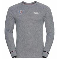 Herren ACTIVE WARM ORIGINALS FAN Funktionsunterwäsche Langarm-Shirt, grey melange, large