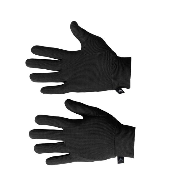 Gloves ORIGINALS Warm Kids, black, large