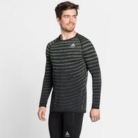 BLACKCOMB PRO-T-shirt met lange mouwen voor heren, black - space dye, large