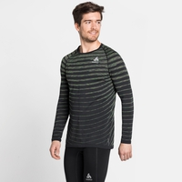 Herren BLACKCOMB PRO Langarm-Shirt, black - space dye, large
