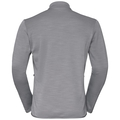 Men's BLAZE CERAMIWARM PRO Midlayer, grey melange, large