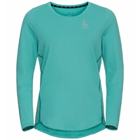 Women's ZEROWEIGHT CHILL-TEC Long-Sleeve Running T-Shirt, jaded, large