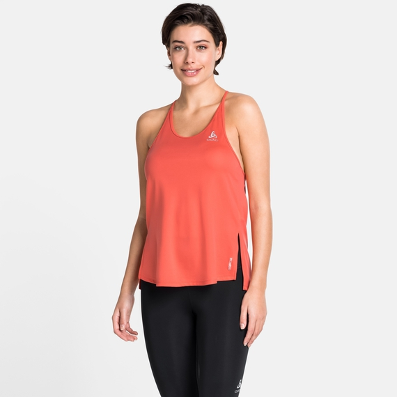 Damen ZEROWEIGHT Tanktop, hot coral, large