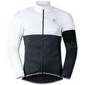 MISTRAL logic Giacca, white - odlo graphite grey, large