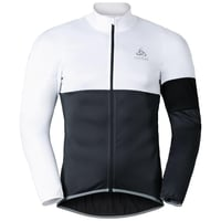 MISTRAL logic Jacket, white - odlo graphite grey, large