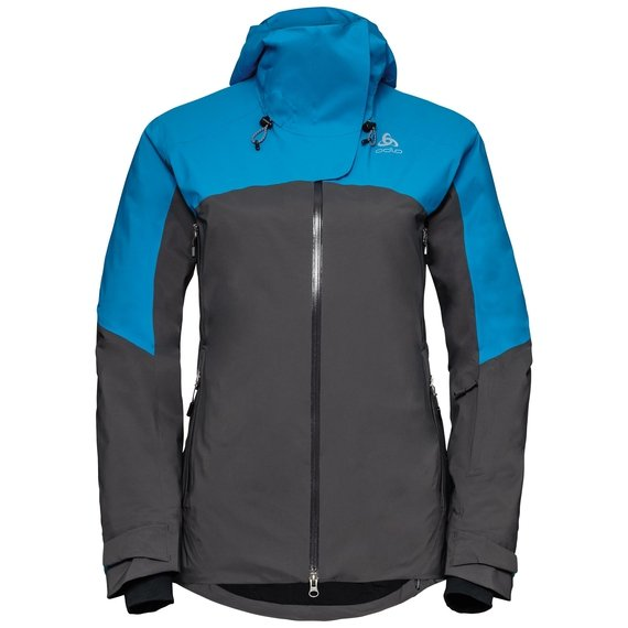 Veste de ski isolante SLY X, blue jewel - odlo graphite grey, large