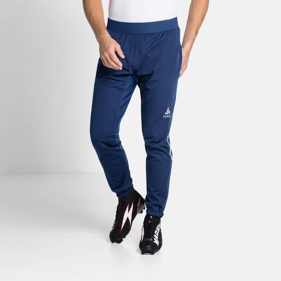 ZEROWEIGHT WINDPROOF-broek voor heren, estate blue, large
