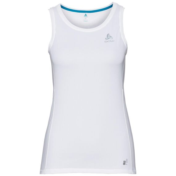 BL TOP Crew neck Singlet OMNIUS F-Dry, white, large