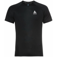 Men's ESSENTIAL Running T-Shirt, black, large