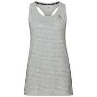 Women's MILLENNIUM Singlet, light grey melange, large