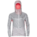 Jacket Zeroweight PRO, silver - fiery coral, large