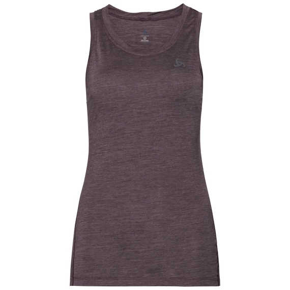 Singlet NATURAL + LIGHT, plum perfect - quail, large