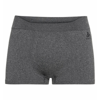 Men's PERFORMANCE WARM ECO Sports Underwear Baselayer Boxers, grey melange - black, large