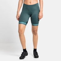 Women's ZEROWEIGHT Cycling Shorts, balsam melange, large