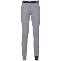 Pants KATHARINA WARM, grey melange logo, large