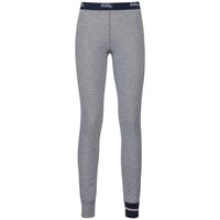 Broek KATHARINA WARM, grey melange logo, large