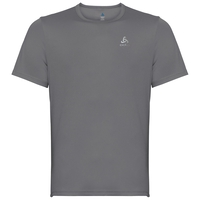 T-shirt s/s crew neck CARDADA, odlo steel grey, large