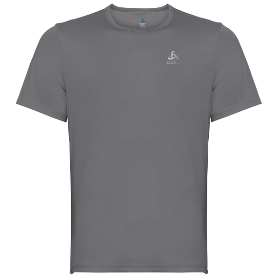 BL TOP Crew neck s/s CARDADA, odlo steel grey, large
