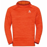Herren MILLENNIUM ELEMENT Midlayer Hoody, orange.com melange, large