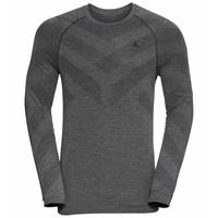 Men's KINSHIP LIGHT Long-Sleeved Base Layer Top, grey melange, large