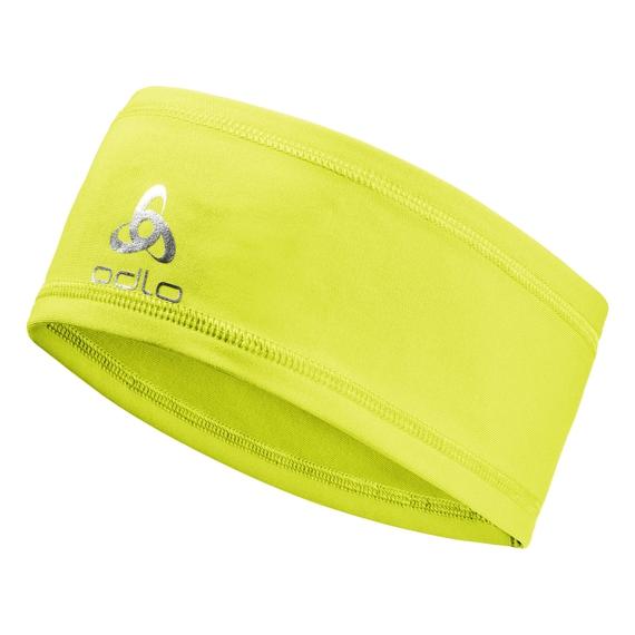 POLYKNIT LIGHT Headband, safety yellow, large