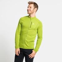 Pull technique à zip intégral FLI LIGHT pour homme, macaw green, large