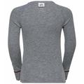 ACTIVE WARM  Heritage KIDS Funktionsunterwäsche Langarm-Shirt, grey melange - placed print FW19, large