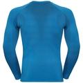 Men's PERFORMANCE WARM Long-Sleeve Baselayer Top, directoire blue - black, large