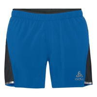 Herren ZEROWEIGHT CERAMICOOL LIGHT 2-in-1 Shorts, energy blue - black, large