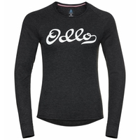 ACTIVE WARM ORIGINALS ECO-basislaagtop met lange mouwen voor dames, dark grey melange, large