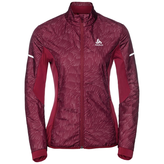 Jacket IRBIS X-Warm, rumba red - AOP FW18, large